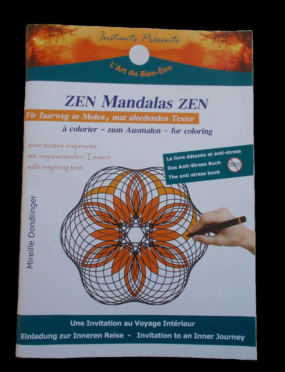 Livre à Colorier Mandalas Zen